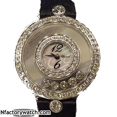 蕭邦Chopard  Happy Diamond 快樂鑽石 L3386D-R40E-CP